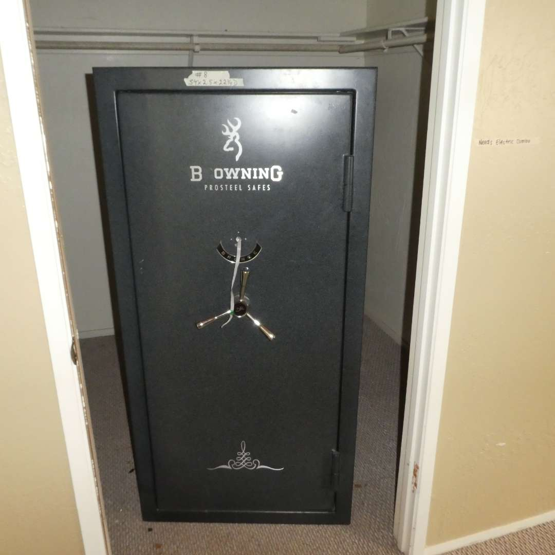 Lot # 8 - Browning Prosteel Gun Safe (Needs New Electric Combo) (main image)