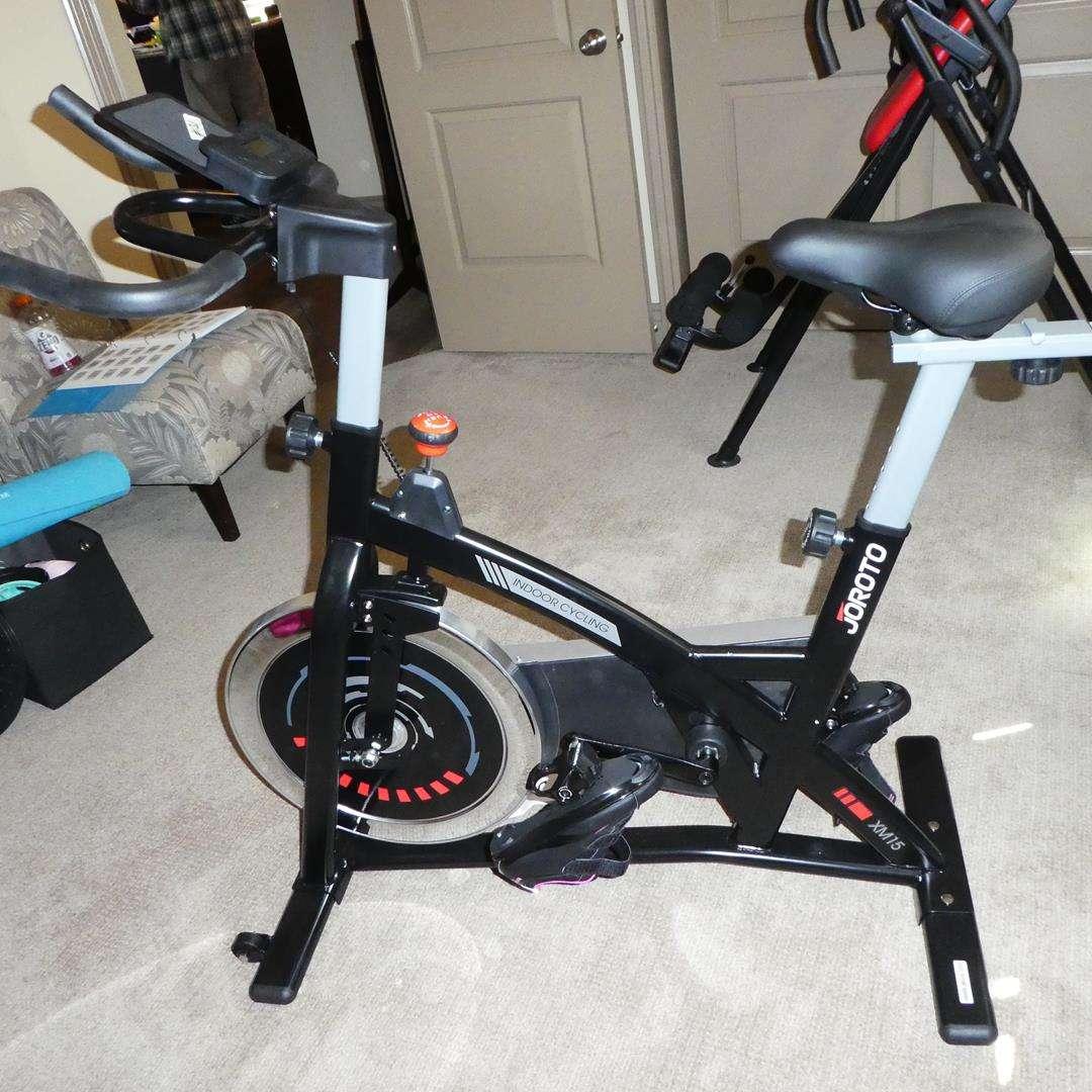 Lot # 131 - Joroto XM15 Indoor Cycling Bike w/Manual (main image)