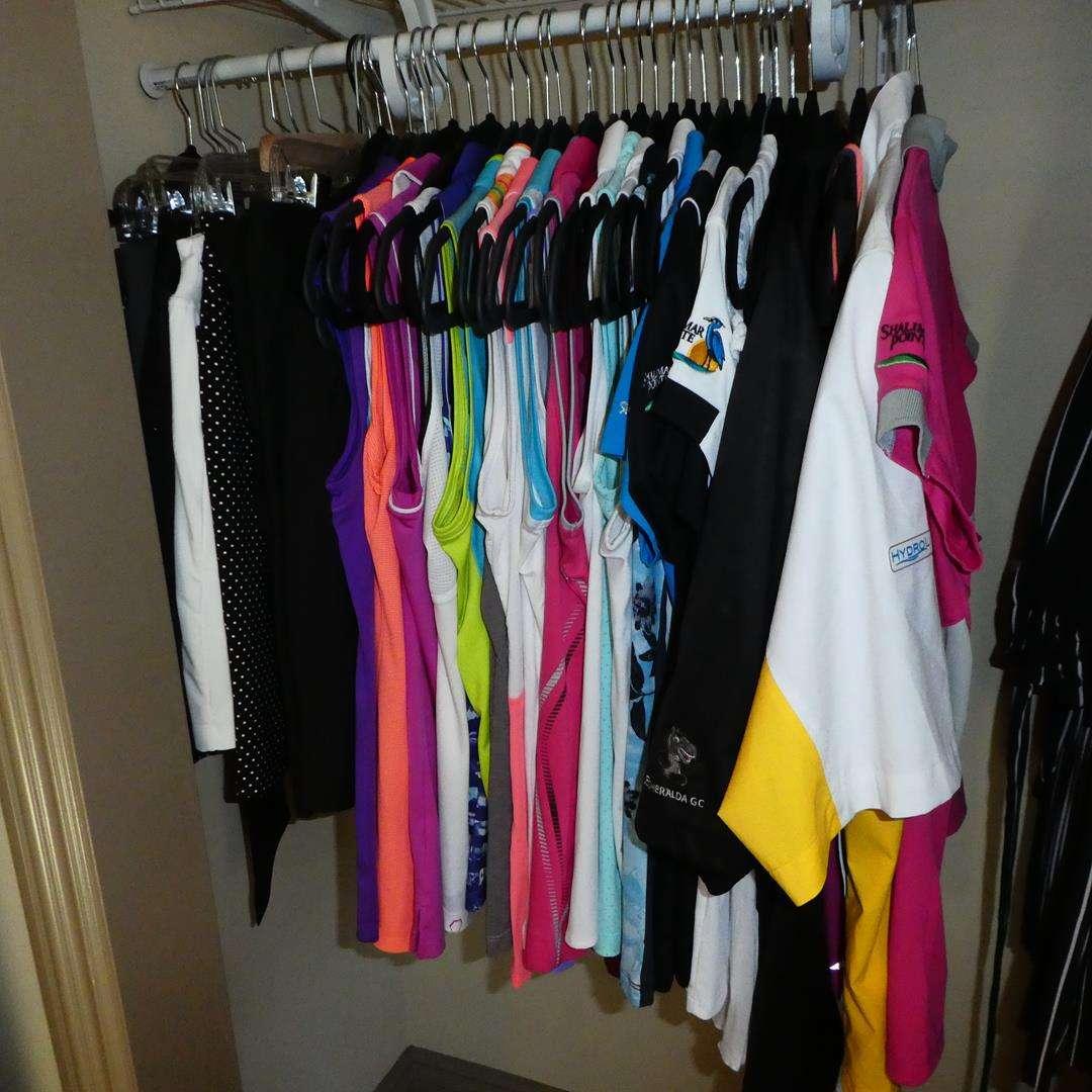 Lot # 136 - Ladies Golf Clothing - Size M (main image)