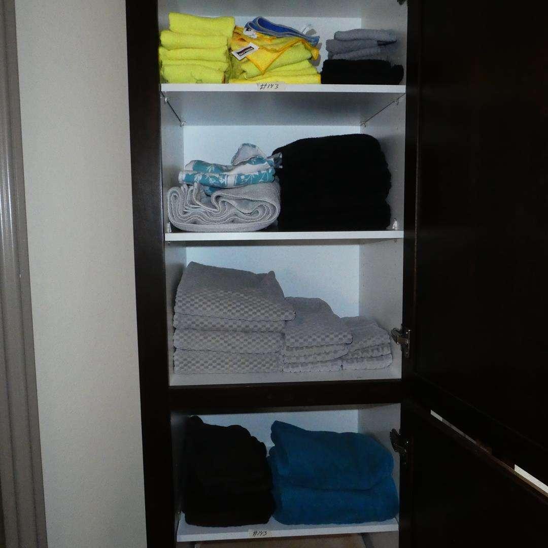 Lot # 143 - Bath Towels & Hand Towels (main image)