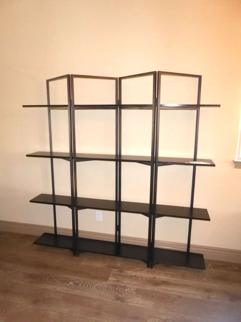 Lot # 17 - Cool Metal & Wood Shelf From Tribesigns   (main image)