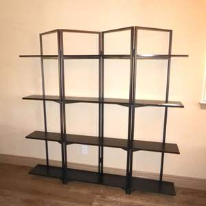 Auction Thumbnail for: Lot # 17 - Cool Metal & Wood Shelf From Tribesigns