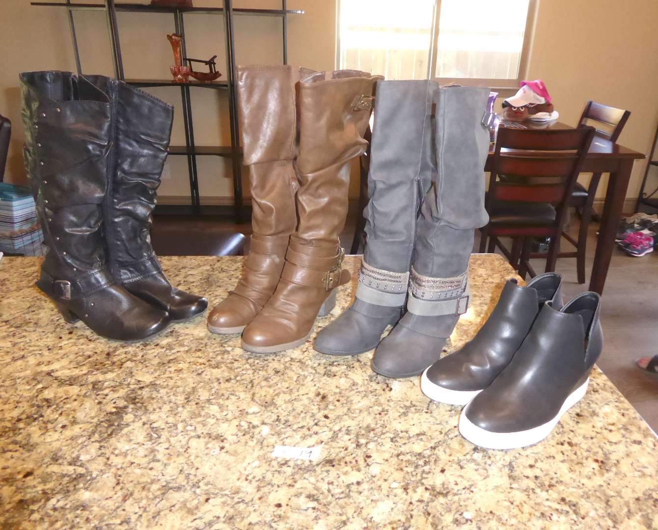 Lot # 19 - Ladies Boots & Shoes  (main image)