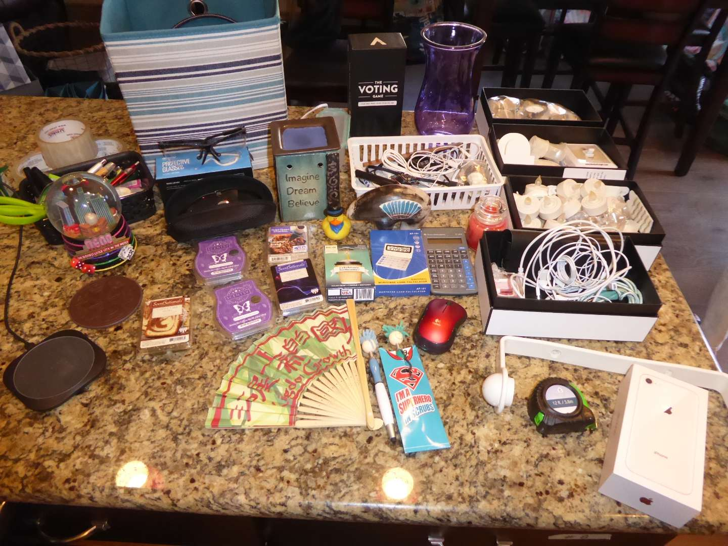 Lot # 25 - iPhone 8, Pure Gear Wireless Phone Charger & More  (main image)