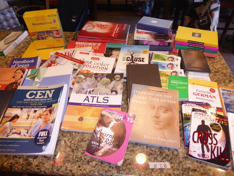 Lot # 28 - Nursing, Medical & Other Books  (main image)
