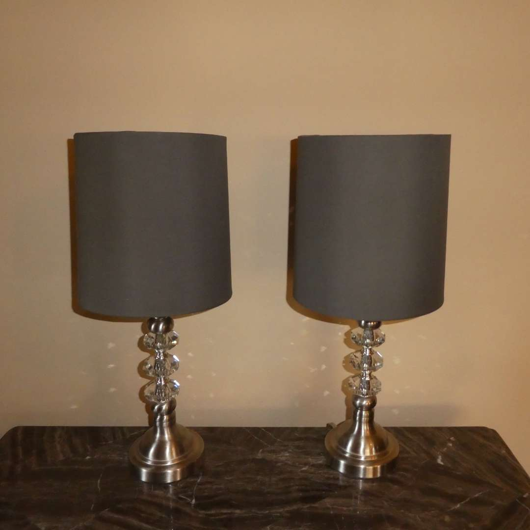 Lot # 200 - Two Adorable Table Lamps  (main image)
