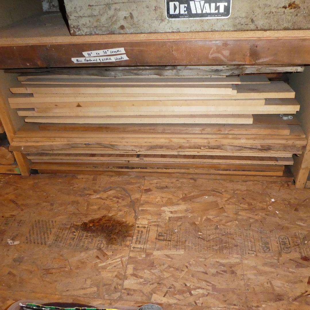 Lot # 135 - Misc. Hardwoods & Other Woods (main image)