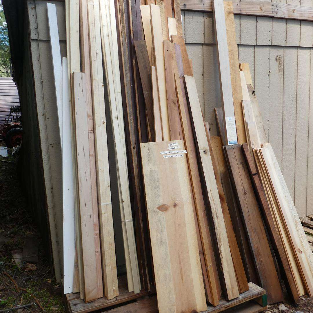 Lot # 139 - Wood Lot - Tongue & Groove & More (main image)
