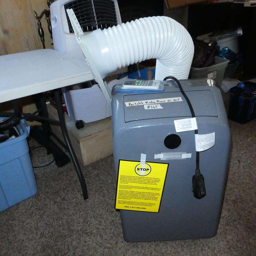 Lot # 365 - 'Hisense' Portable Window Mount AC Conditioner w/Remote (main image)