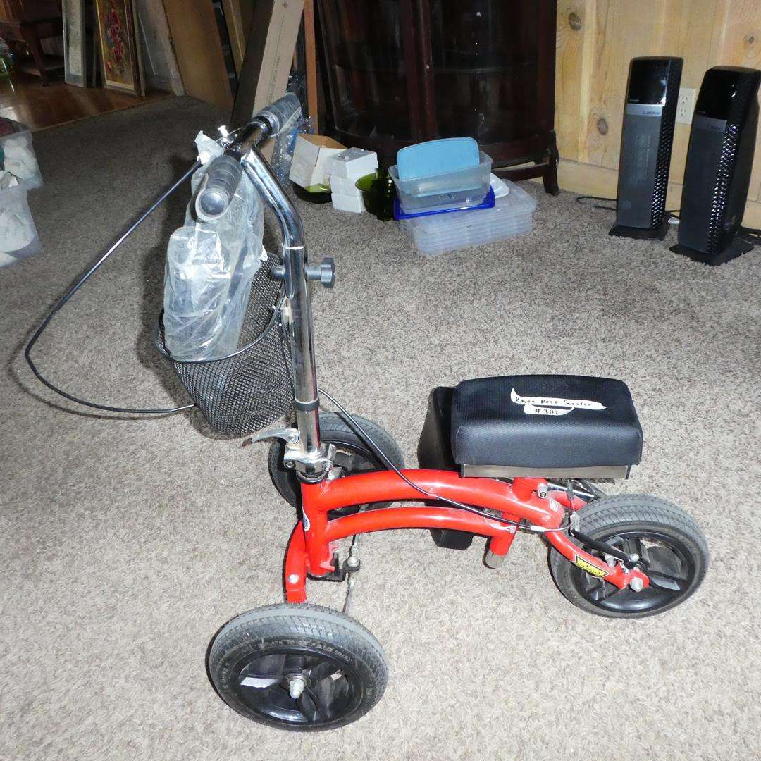 Lot # 382 - Works Connection Knee Walker Scooter (main image)