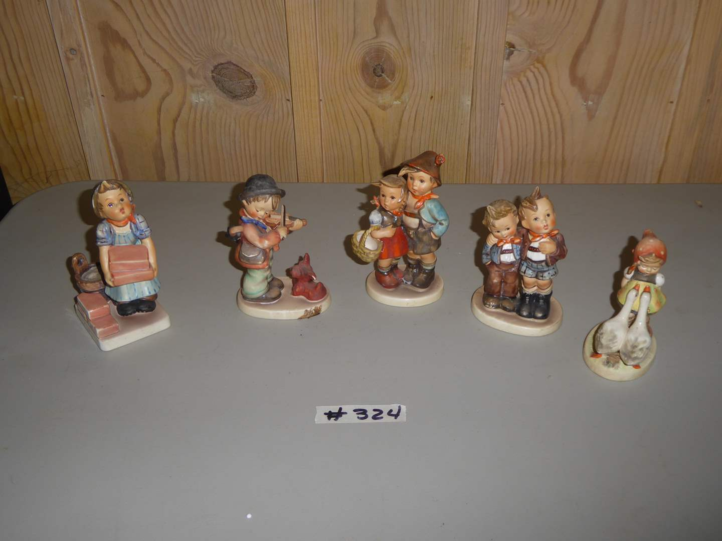 Lot # 324 - Five Hummel Figurines  (main image)