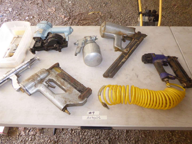 Lot # 9 - Air Tools  (main image)