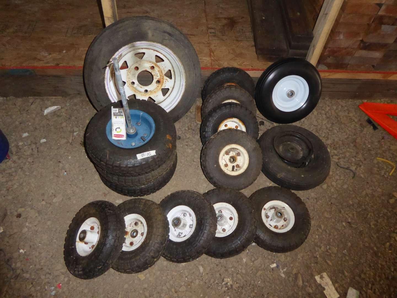 Lot # 10 - Miscellaneous Tire Lot  (main image)