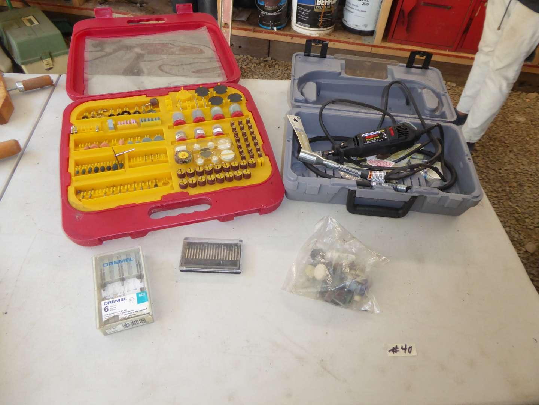 Lot # 40 - Dremel Multi Pro Tool & Bits  (main image)