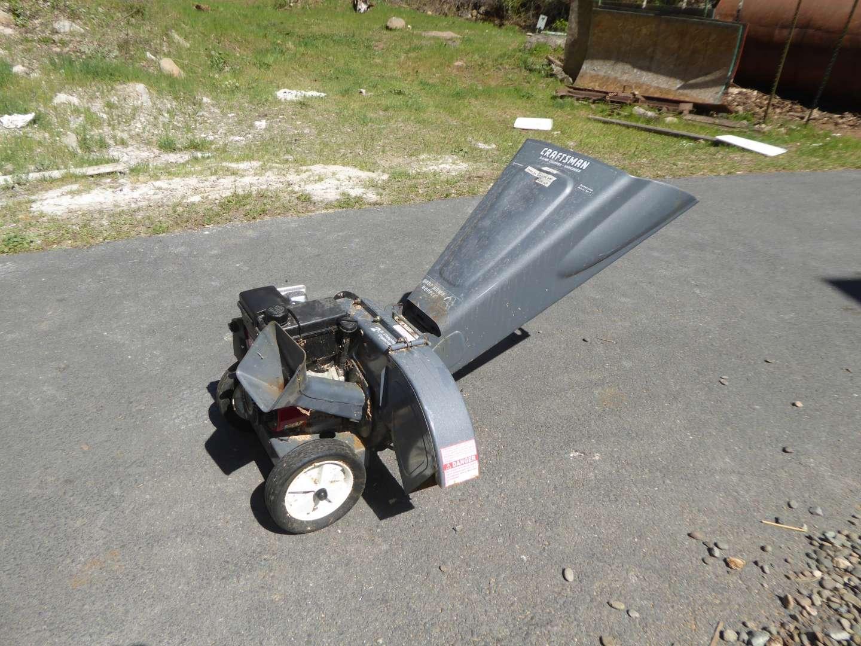 Lot # 182 - Craftsman Chipper Shredder  (main image)