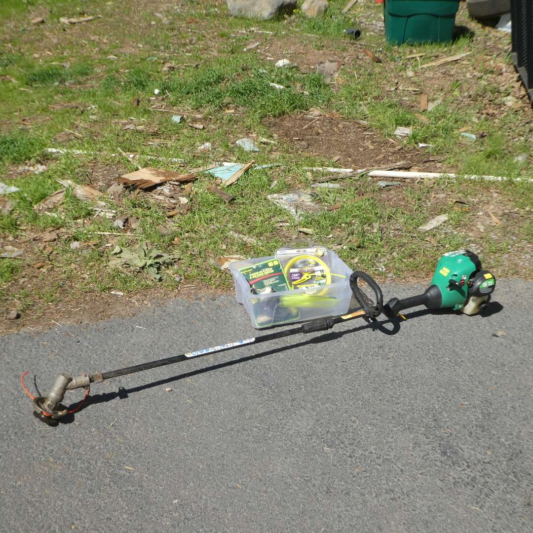 Lot # 74 -  Weed Eater and Misc Trimmer Line (main image)