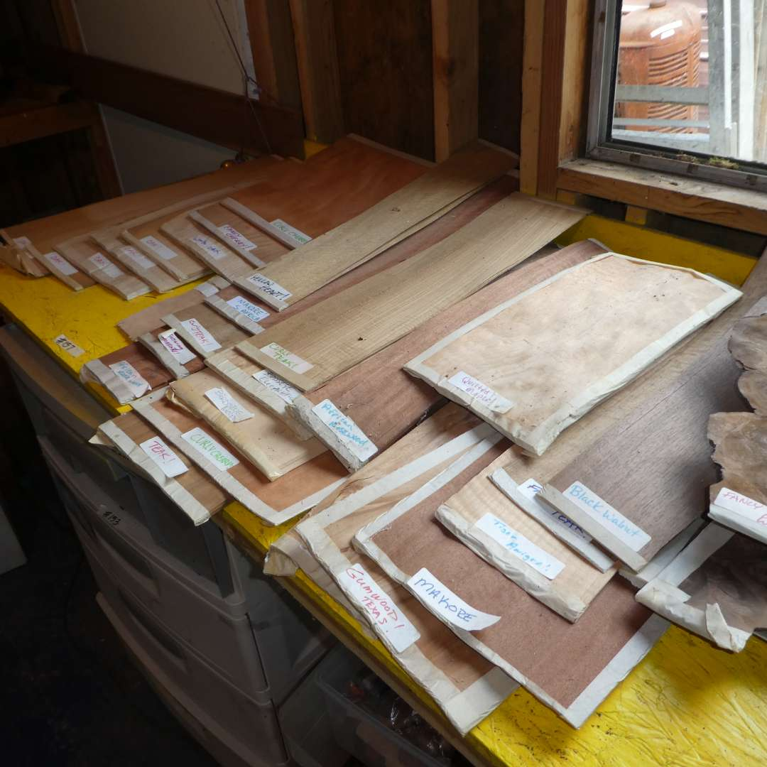 Lot # 157 - Assorted Wood Veneers (See all Photos for Wood Types) (main image)