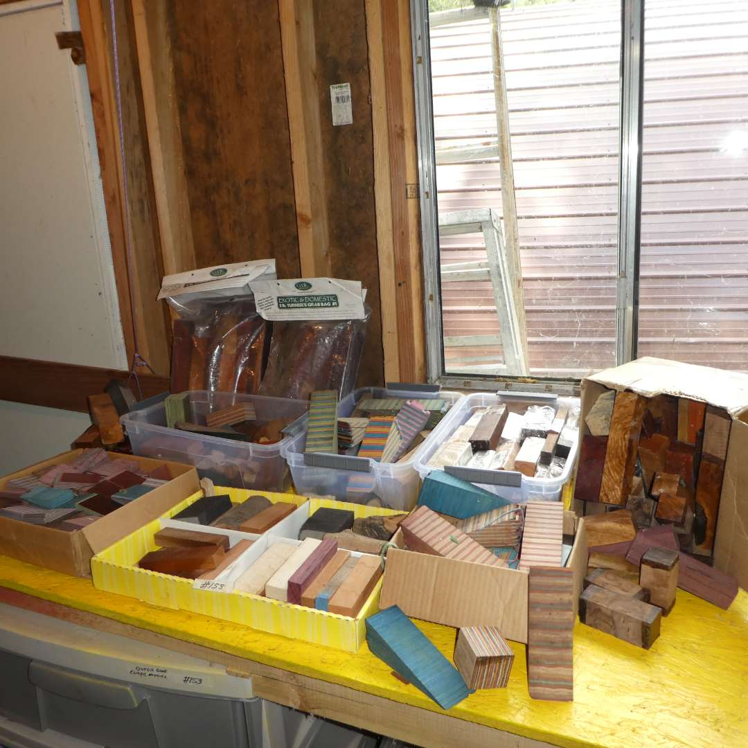 Lot # 158 -  Large lot of Beautiful Crafting Wood for Woodworking  (main image)