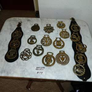Lot # 109 - Vintage Horse Brasses Collection