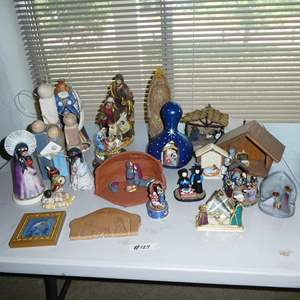 Lot # 124 - Assorted Nativity Scenes Collection