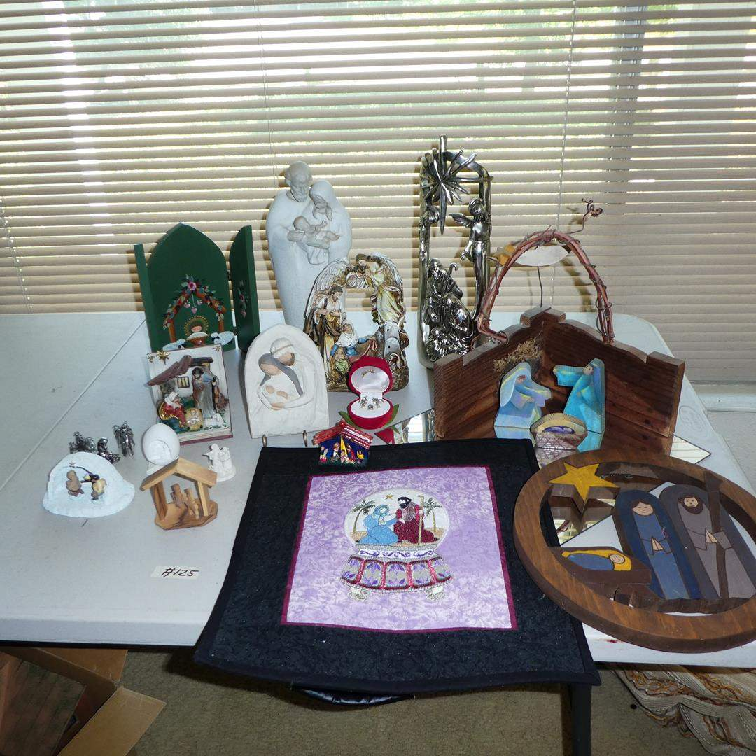 Lot # 125 - Assorted Nativity Scenes Collection (main image)