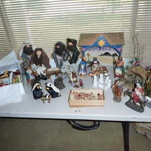 Lot # 126 - Assorted Nativity Scenes Collection