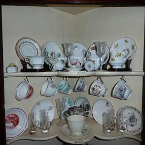 Lot # 135 - Vintage Tea Cups Collection