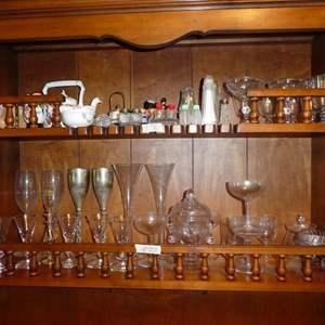 Lot # 137 - Assorted Bar Glasses & More