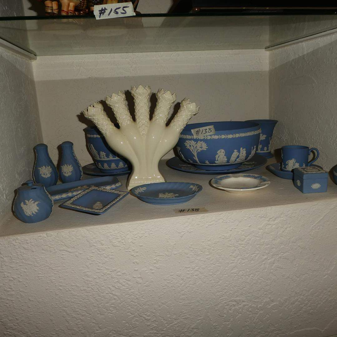 Lot # 138 - Vintage Wedgwood Pottery Collection (main image)