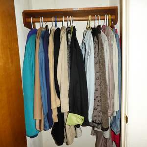 Lot # 160 - Ladies Jackets & Shirts - See Pics For Sizes