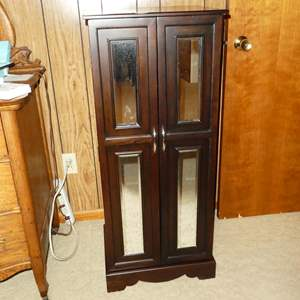 Lot # 172 - Free Standing Jewelry Armoire