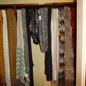 Lot # 177 - Fun Ladies Scarves & Slippers