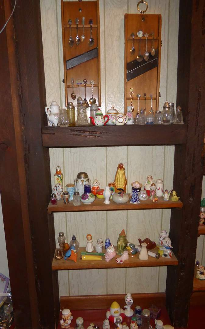 Lot # 18 - Collectible Spoons, Salt Shakers & Figurines   (main image)
