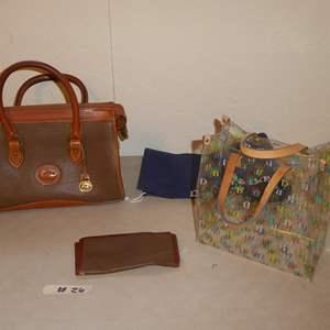 Lot # 26 - Dooney & Bourke Purse, Bag & Wallet