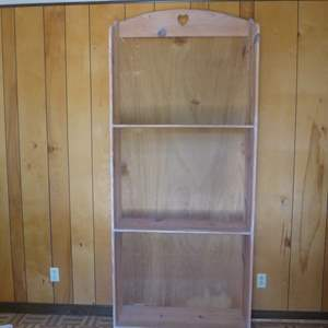 Lot # 41 - 7' Tall Wooden Shelf