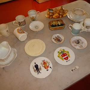 Lot # 69 - British Royal Family Collectibles