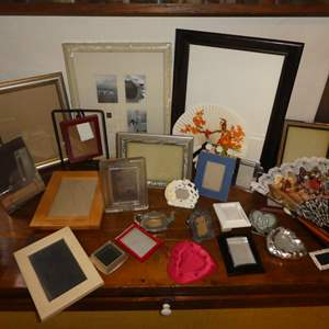Lot # 95 - Assortment of Picture Frames (Various Shapes and Sizes)(40 +)