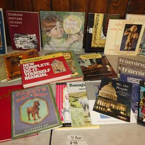 Lot # 98 -  Variety of Books (Children's, DIY, History and More)(30 Books)