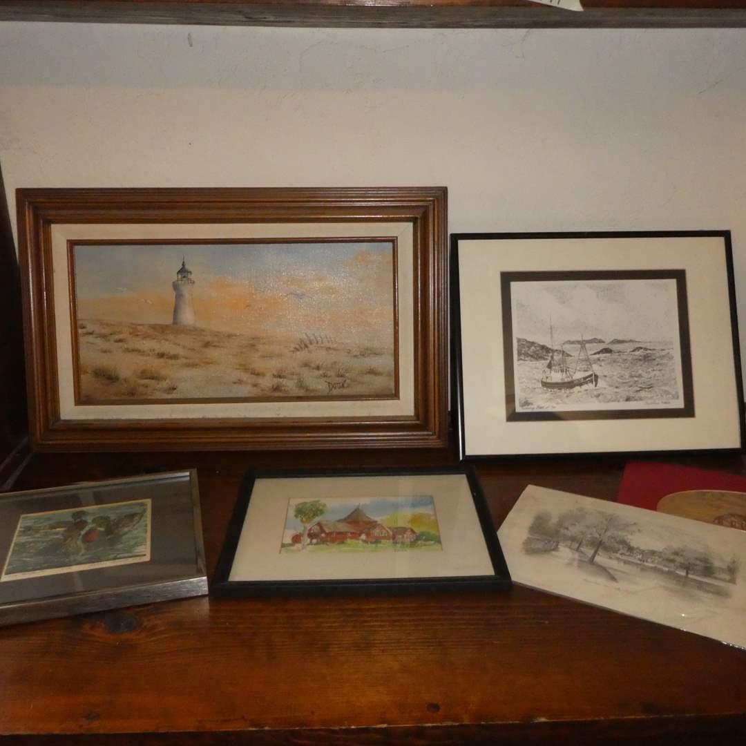 Lot # 99 - Lot of Original Art Work  (main image)