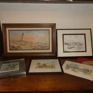 Lot # 99 - Lot of Original Art Work