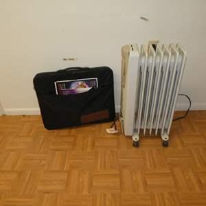 Lot # 211 - Mini BioMat 7000 MX and DeLonghi Heater