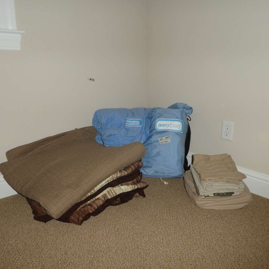 Lot # 38 -  Aerobed Inflatable Air Mattress (Lightly Use/ Looks New)