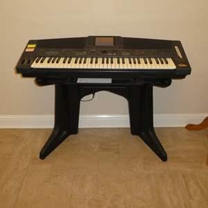 Auction Thumbnail for: Lot # 10 - Technics Electronics Keyboard (SX-KN500)(Anniversary Edition)