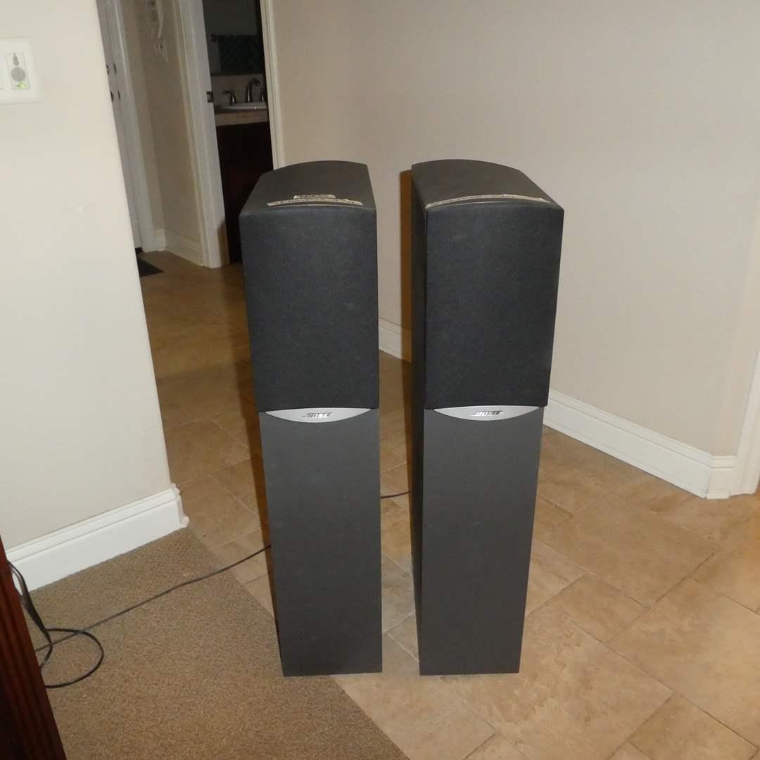Lot # 20 - Bose 791 Series II Speakers (Work Great)  (main image)