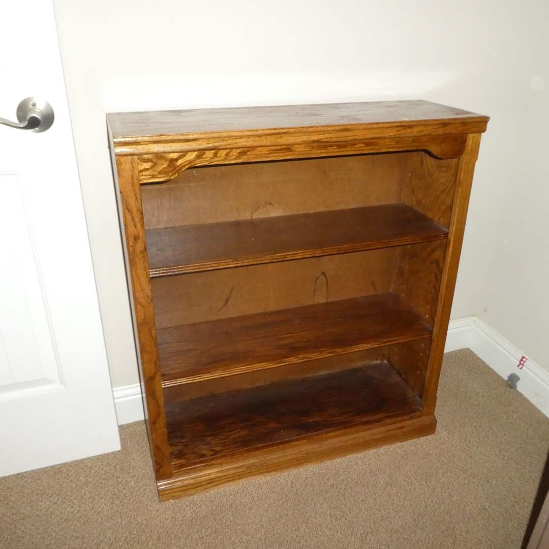 Lot # 31 - Small Solid Wood Book Shelf (main image)