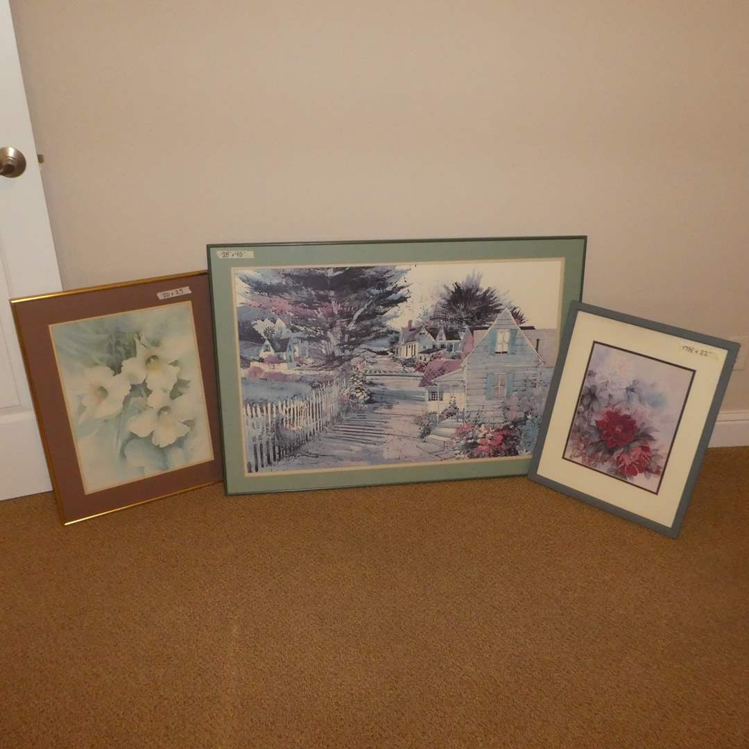 Lot # 56 - Lot of Three Framed Prints  (main image)