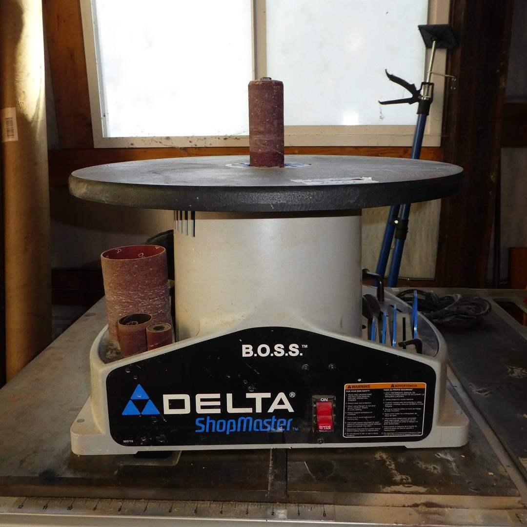 Lot # 101 - Delta ShopMaster Bench Oscillating Spindle Sander
