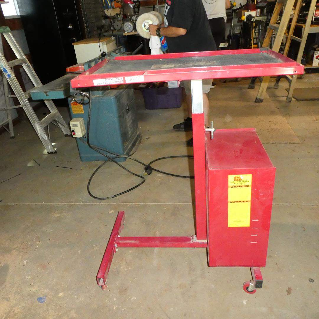 Lot # 103 - Torin Big Red Auto Work Station w/Cabinet & Key