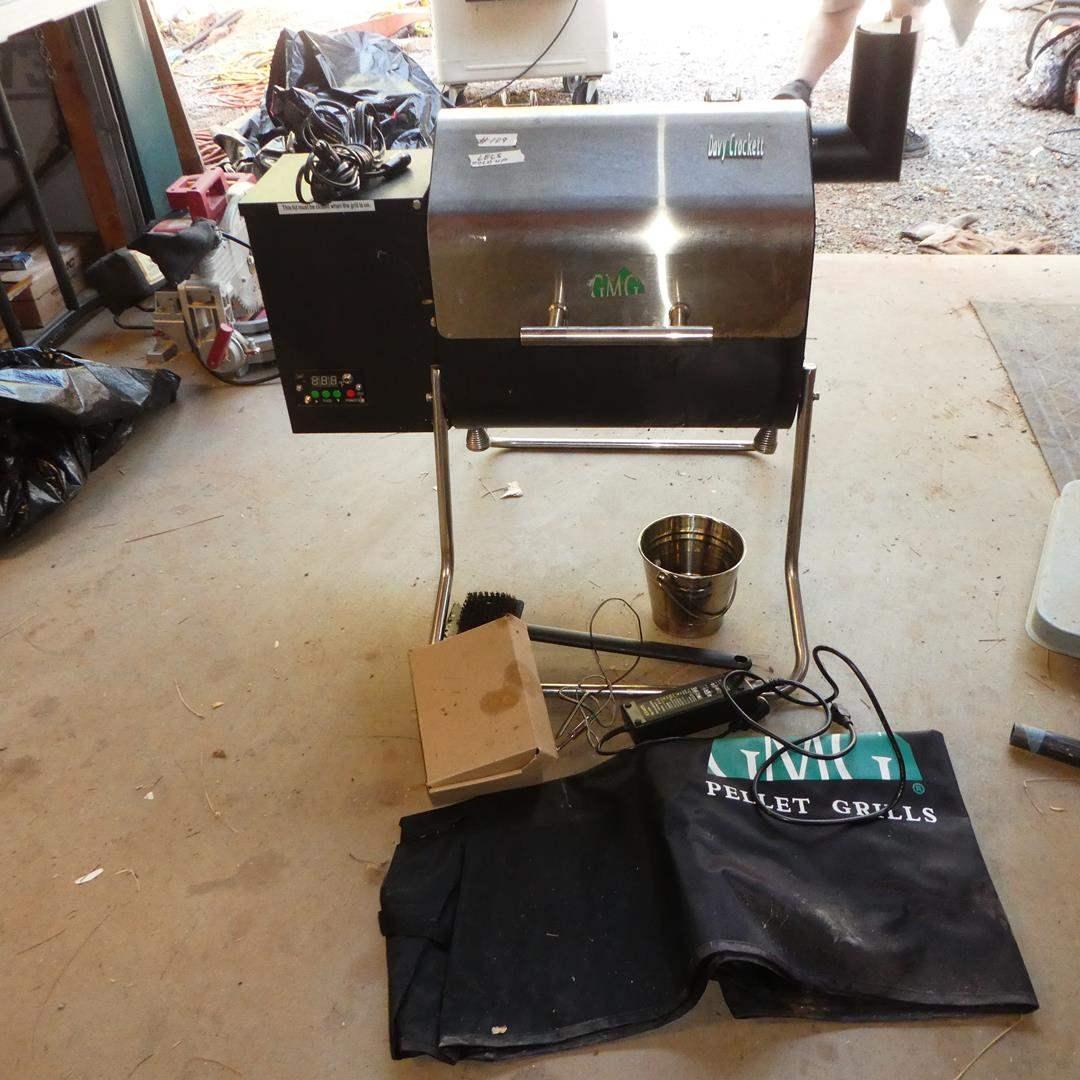 Lot # 109 - Portable GMG Pellet Grill (Legs Fold Up)