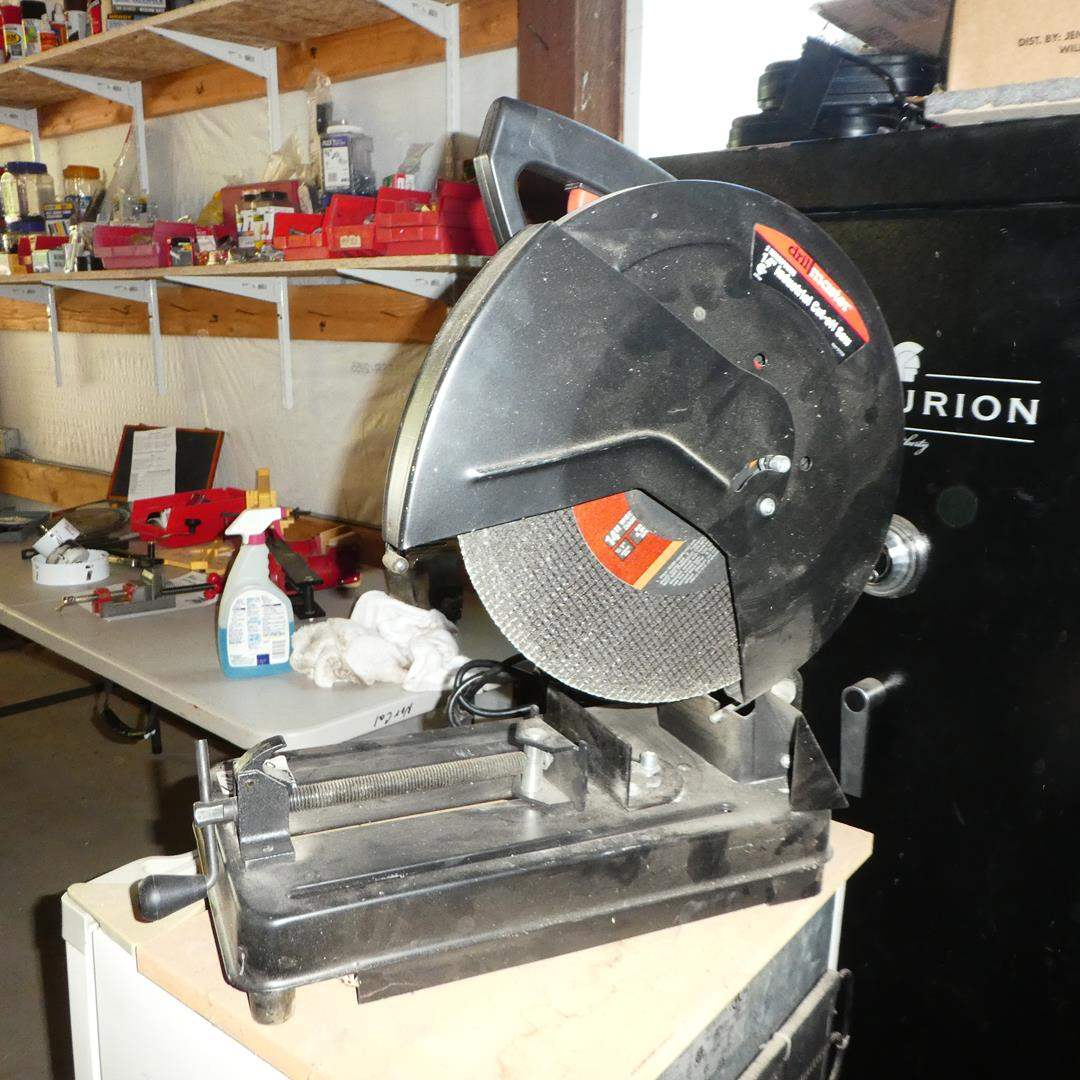 """Lot # 113 - Drill Master 14"""" Industrial Cut-Off-Saw (main image)"""